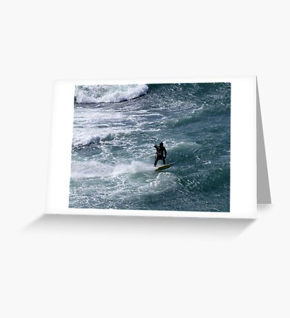 Ahead of the Wave Greeting Card