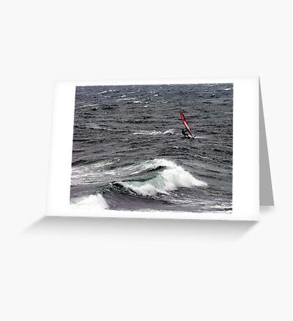Forward Motion Greeting Card