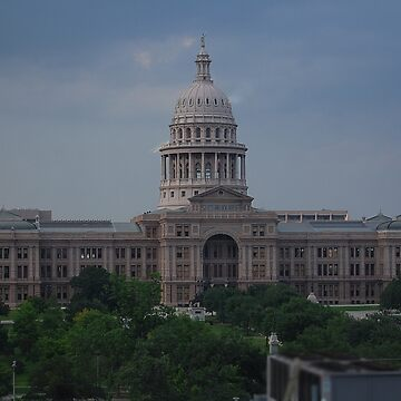 Office View Of The Capitol Of Tx by nakedlunch02