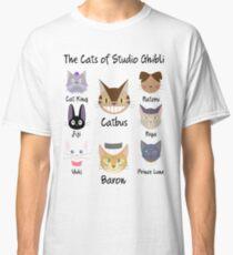 THE CATS OF STUDIO GHIBLI Classic T-Shirt