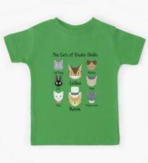 THE CATS OF STUDIO GHIBLI Kids Tee