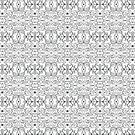 Terrific creatures in a monstrous repetitive pattern by Zoo-co