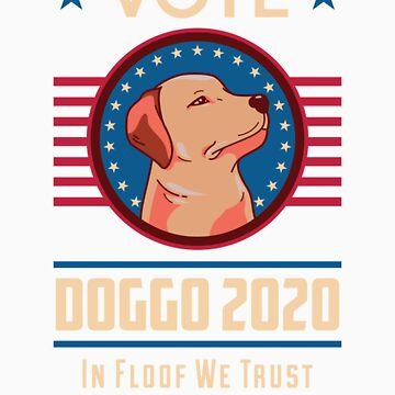 Vote Doggo for President 2020 by doggopupper