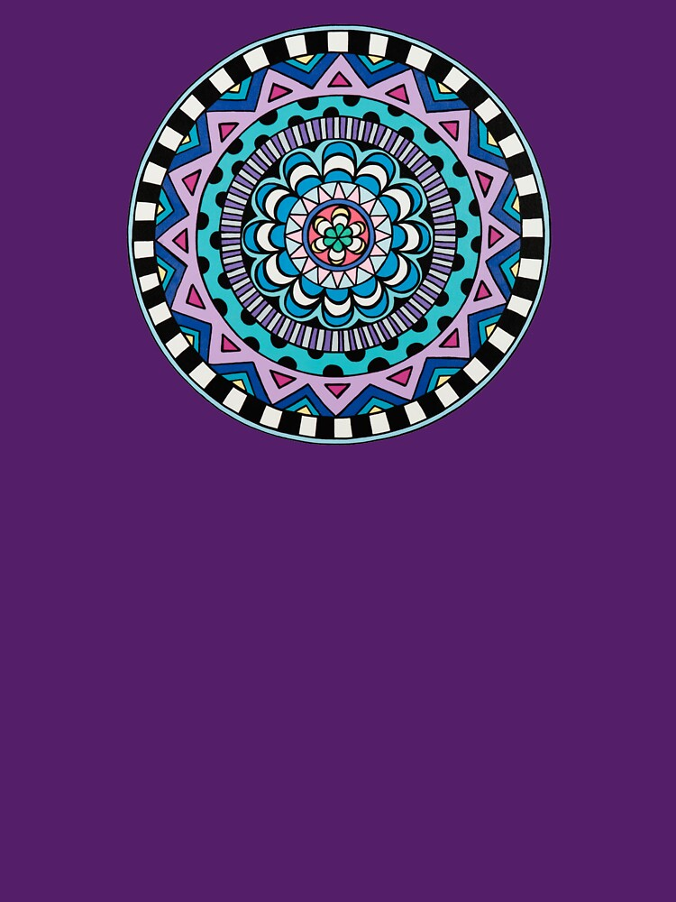 Purple Mandala by designsbybethan