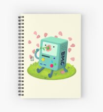 Flowers for BMO Spiral Notebook