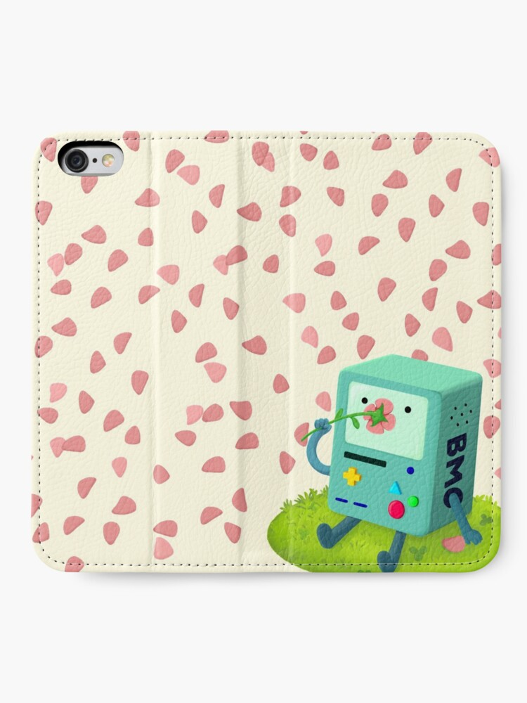 Alternate view of Flowers for BMO iPhone Wallet