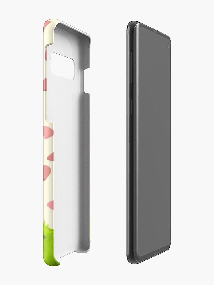 Alternate view of Flowers for BMO Case & Skin for Samsung Galaxy