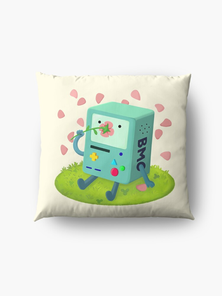 Alternate view of Flowers for BMO Floor Pillow