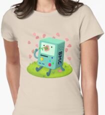 Flowers for BMO Fitted T-Shirt