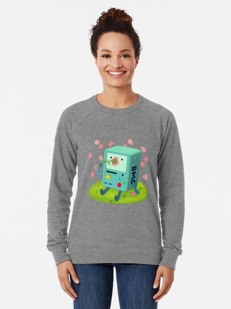 Alternate view of Flowers for BMO Lightweight Sweatshirt