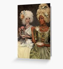 Tea Party II Greeting Card