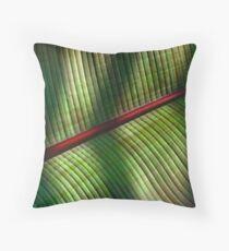 Palm Leaf 2 Throw Pillow