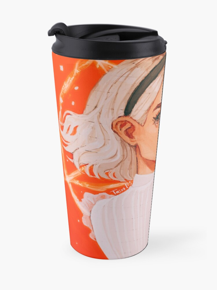 Alternate view of the teenage witch Travel Mug