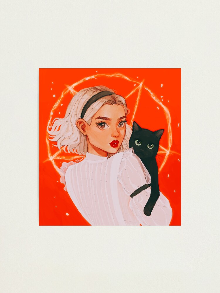 Alternate view of the teenage witch Photographic Print