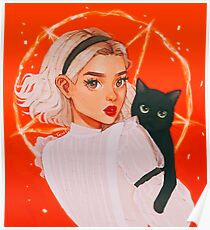 the teenage witch Poster