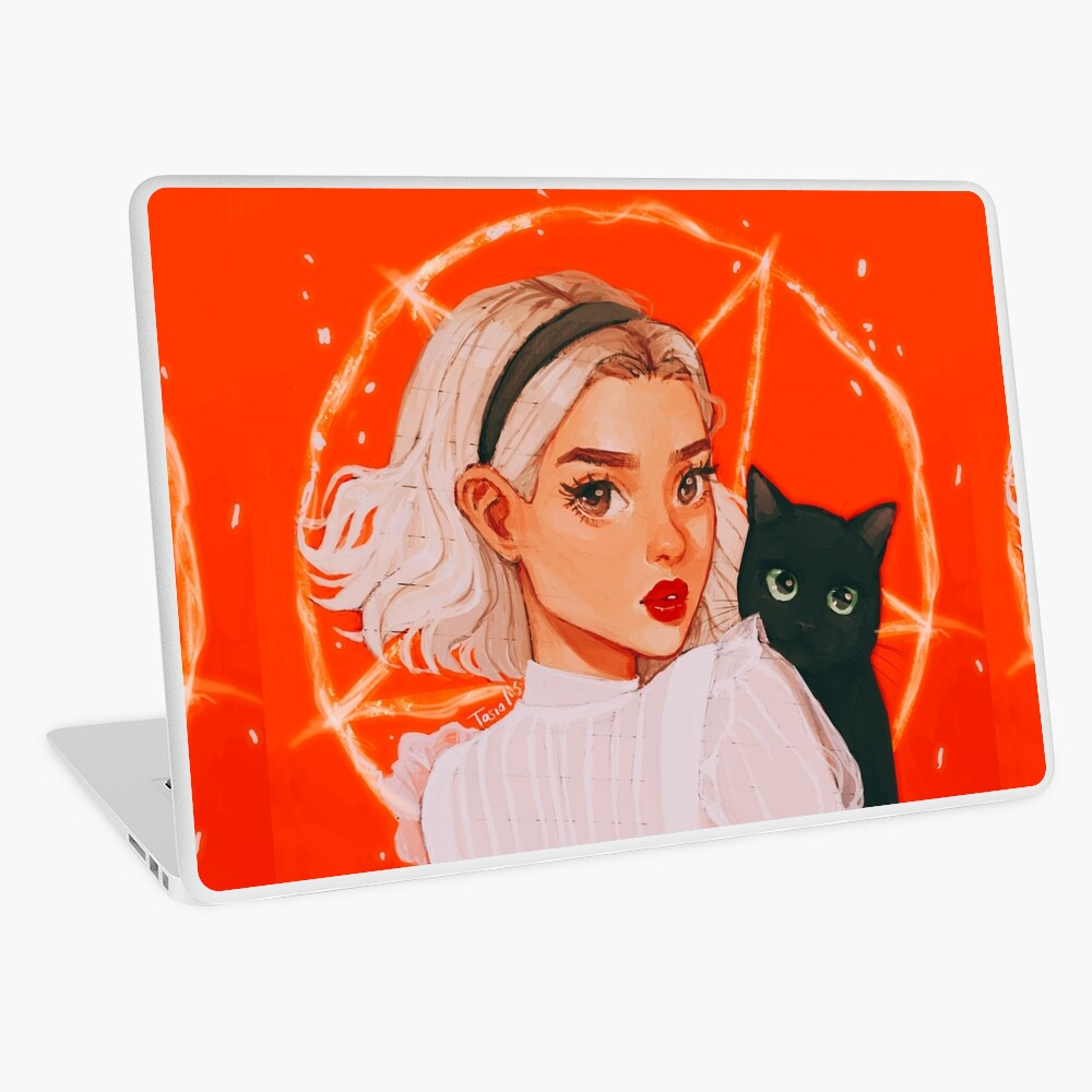 the teenage witch Laptop Skin