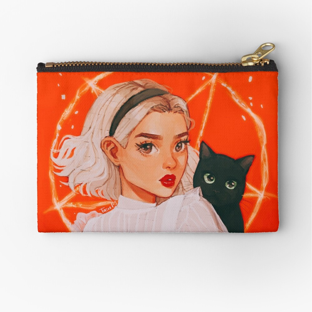 the teenage witch Zipper Pouch