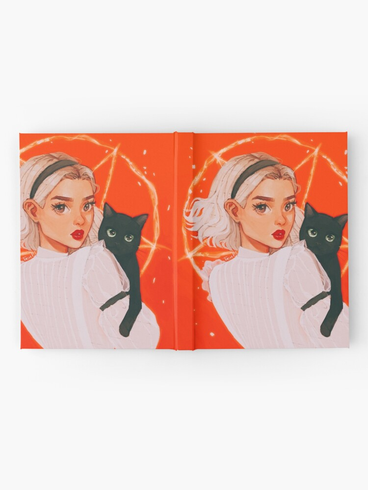 Alternate view of the teenage witch Hardcover Journal