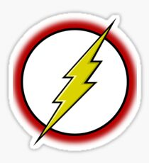 Flash Logo Sticker
