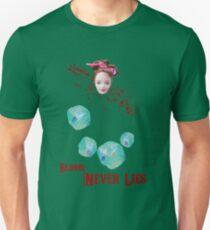 Blood never lies Unisex T-Shirt