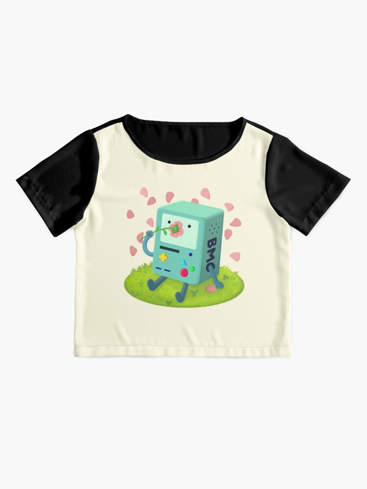Alternate view of Flowers for BMO Chiffon Top