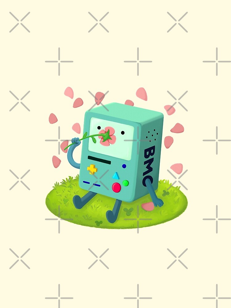 Flowers for BMO by raediocloud