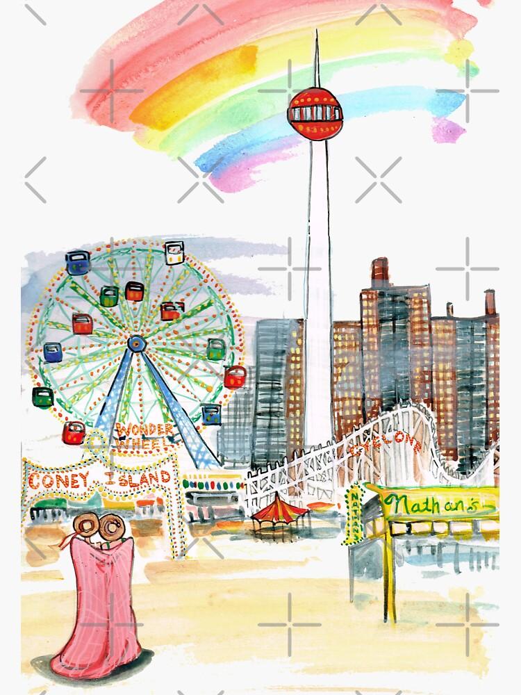 Coney Island by JeanRim