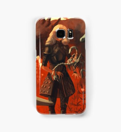 Dinosaur Knight Samsung Galaxy Case/Skin