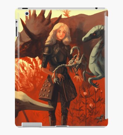 Dinosaur Knight iPad Case/Skin