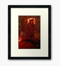 Smoke Machine - Mr G. Lovelace Framed Print