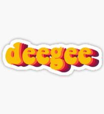 deegee Sticker