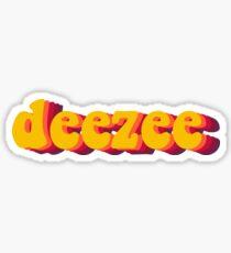 dz groovy Sticker