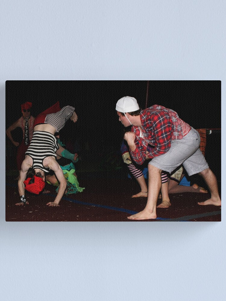 Alternate view of Circus Monoxide Canvas Print