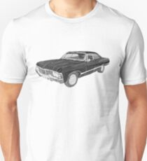 '67 Chevy Impala (Supernatural) Unisex T-Shirt