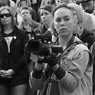 Protestor by Andrew  Makowiecki