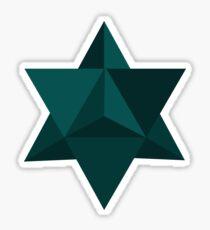 Star Tetrahedron Descent Sticker
