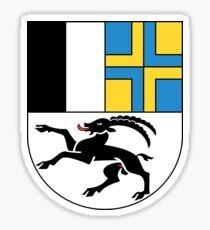 Wappen des Kantons Graubünden Sticker