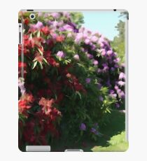 Illustrated Rhododendrons iPad Case/Skin