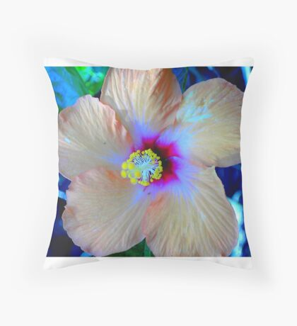 Florida Flower Throw Pillow