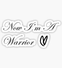 Warrior Heart Sticker