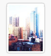 Pegatina New York City, Skyscrapers
