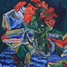 Blue Blanket Still Life by ochre67