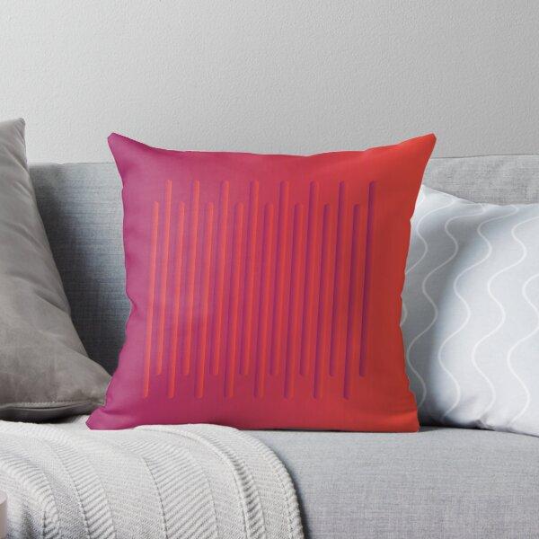 Smooth Bump Throw Pillow