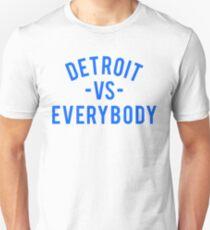 Detroit VS Everybody   Blue T-Shirt
