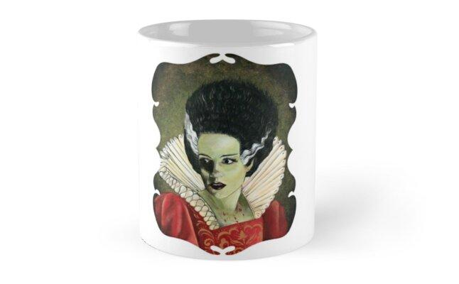 Renaissance Victorian Portrait - Bride of Frankenstein by DontPanicDecor
