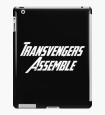 Transvengers Assemble iPad Case/Skin