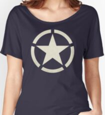 US Tanker Vintage Star Women's Relaxed Fit T-Shirt