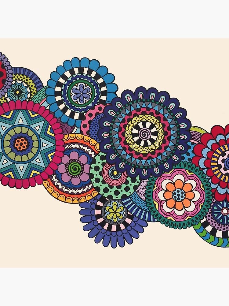 Mandalas On Ivory by designsbybethan