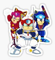 Samurai Pizza Cats - Group Color Sticker