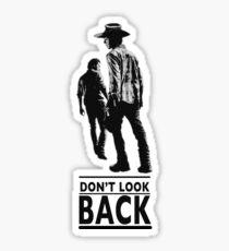 Pegatina Don't look back